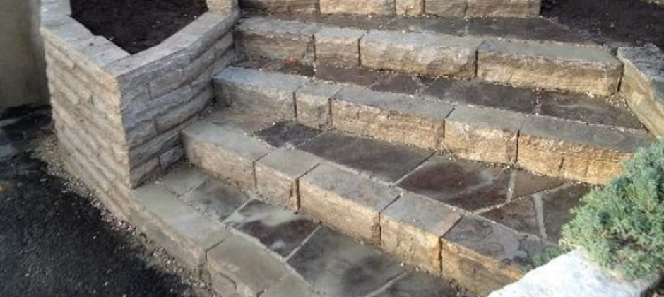 Natural Stone Stairs Ottawa
