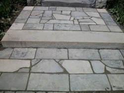 Patio stone work - stonehenge masonry